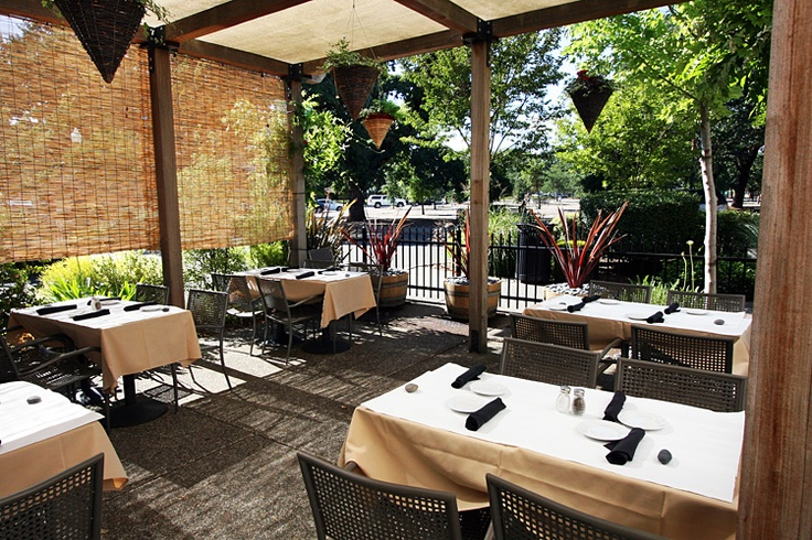 patio 3 restaurant design pinterest