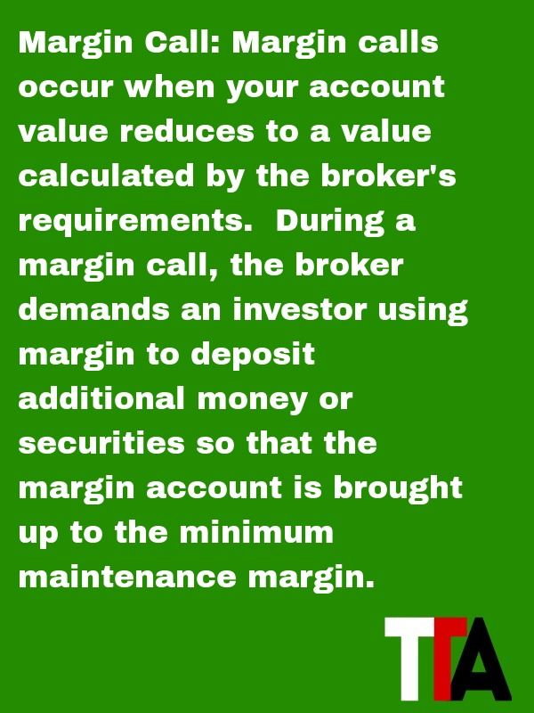 what is a margin call in day trading