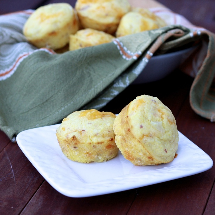 bacon onion and cheddar corn muffins | Want to Cook, Biscuits | Pinte ...