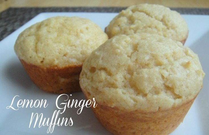 Lemon Ginger Muffins - 5 points per muffin