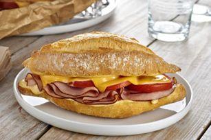 Creamy Dijon Hot Ham Sandwiches | Sandwiches | Pinterest