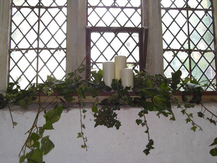 Window Sill Decor Church Decorations Pinterest