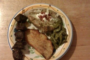marinated beef skewers | Main Dishes | Pinterest
