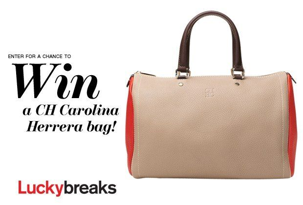 ... to win a CH Carolina Herrera bag plus 40 other awesome fashion steals