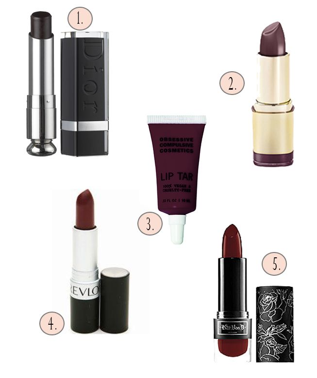 Burgundy Lipsticks For When Red Just Doesn't DoJustice