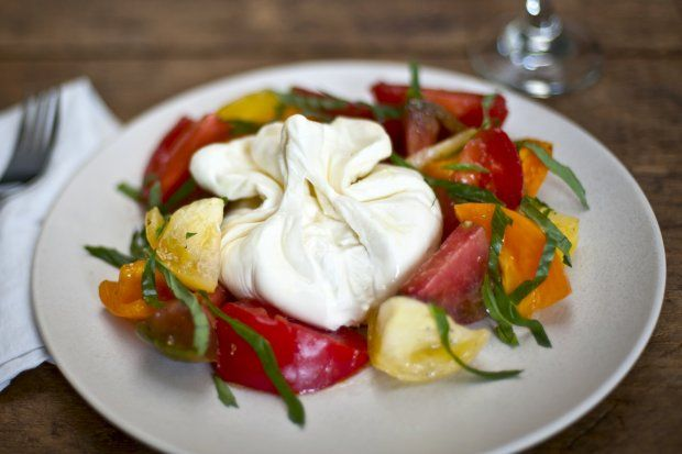 burrata caprese | Hungry, Hungry Hippo | Pinterest