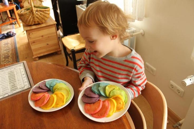 rainbow pizza double rainbow pancakes double rainbow pancakes recipe ...