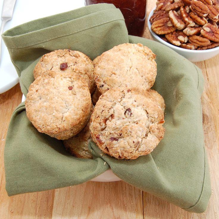 Sweet Peas Kitchen » Pecan Sour Cream Biscuits