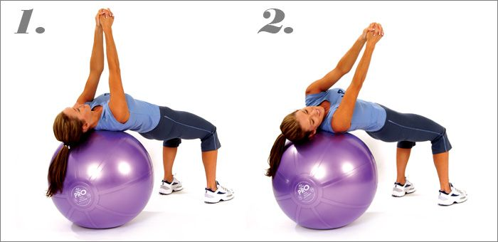 Russian Twists on Stability Ball | Fitness | Pinterest