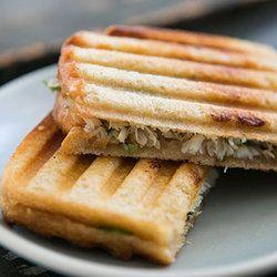 Crab Salad and Sourdough Panini   Delish - I'm so trying this!   Pint ...