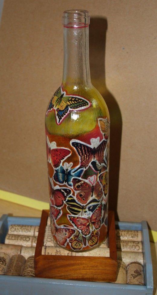 Wine cork bottle family craft ideas for Craft ideas using bottles