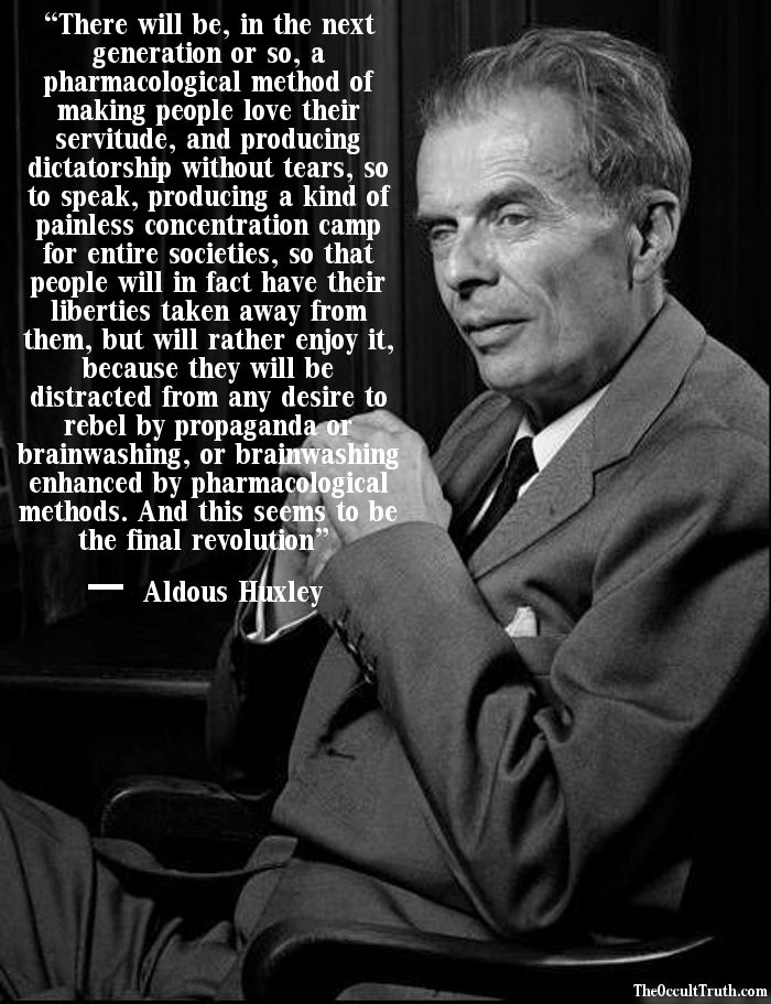 Brave New World Aldous Huxley Quotes Pinterest