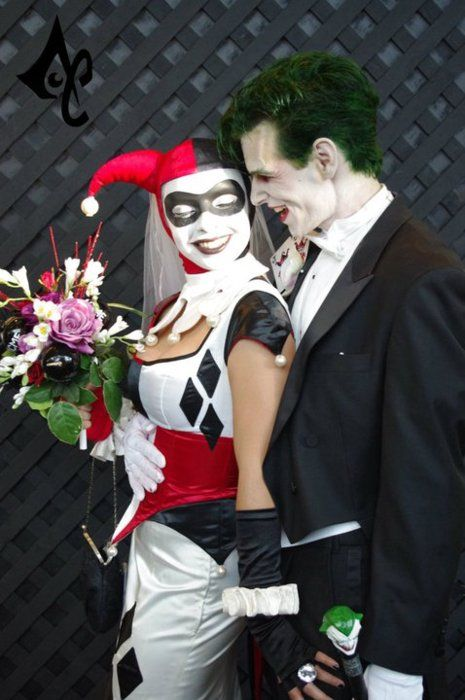 Harley joker wedding