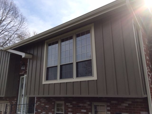 Vertical Fiber Cement Siding Home Pinterest