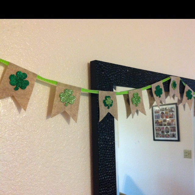 st patricks day flags