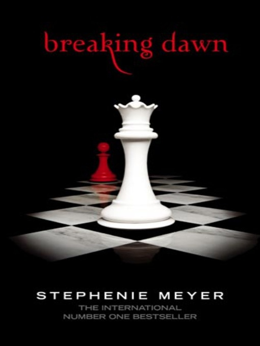 an analysis of breaking dawn a novel by stephanie meyer Best known for her twilight series, stephenie meyer's four-book collection has sold over 100 million copies globally in over 50 countries, with translations in 37 different languages.