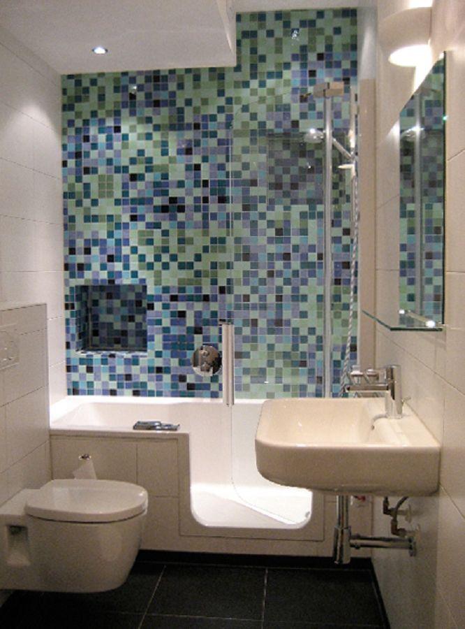 mozaiek badkamer goedkoop: goedkope badkamer decoratieve moza ek, Badkamer