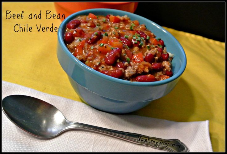beef amp bean chile verde