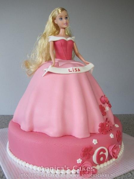 Sleeping beauty cake/ Doornroosje taart