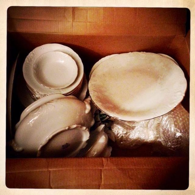 Vajilla antigua de porcelana mi casa mola pinterest - Vajilla de porcelana ...