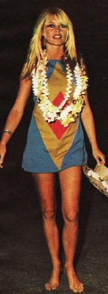Brigitte Bardot   mini dressBrigitte Bardot Dress