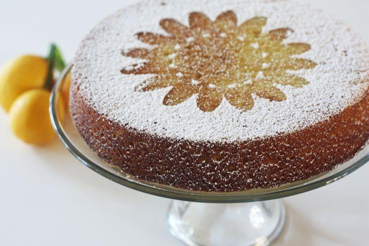 Zesty Lemon Cake... I served this with fresh fruit and a lemon sauce ...