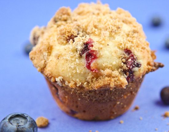 Blueberry Sour Cream Muffins | Food! | Pinterest