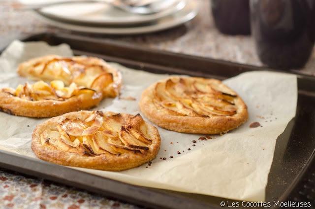 Tarte aux pommes | Les Cocottes | Pinterest