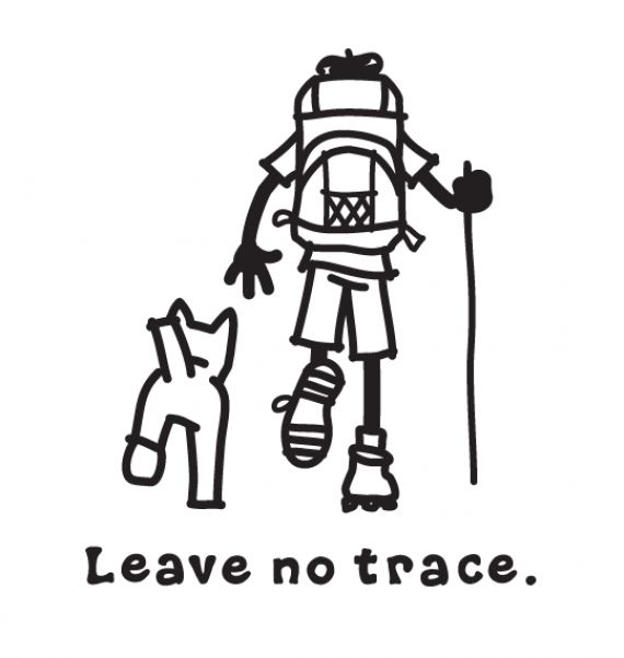 leave no trace coloring page leave no trace coloring page backpacking camping pinterest