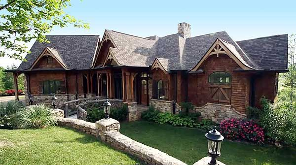 Award Winning Mountain Craftsman Plan
