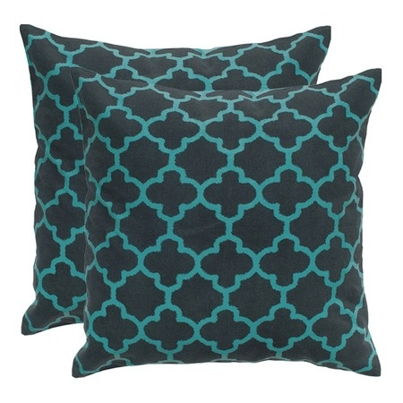 Marrakech Pillow in Charcoal