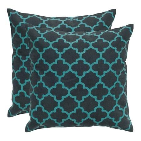 Marrakech Pillow in Charcoal