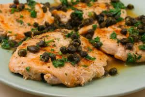 Kalyn's Kitchen®: Recipe for Chicken Piccata with Fried Capers