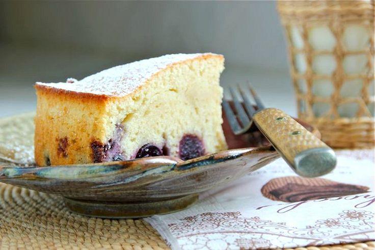 Tartouillat -- a French fresh cherry and dark rum cake