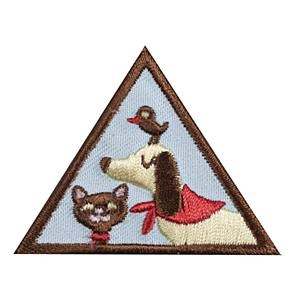 Girl Scout Brownie Pets Badge. Check out the requirements in The Girl's Guide to Girl Scouting. Girl Scout badges only $1.50.