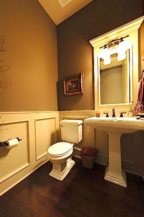 Wainscoting In Bathroom Bath Remodel Ideas Pinterest