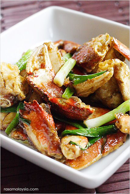 Ginger and Scallion Crab - The recipe is very easy and takes only a ...