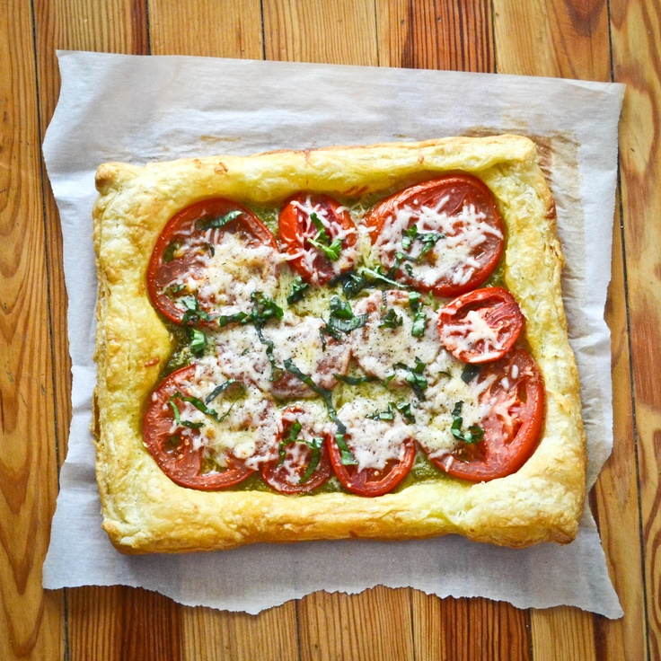 Tomato pesto parmesan tart | eat :: pizza | Pinterest
