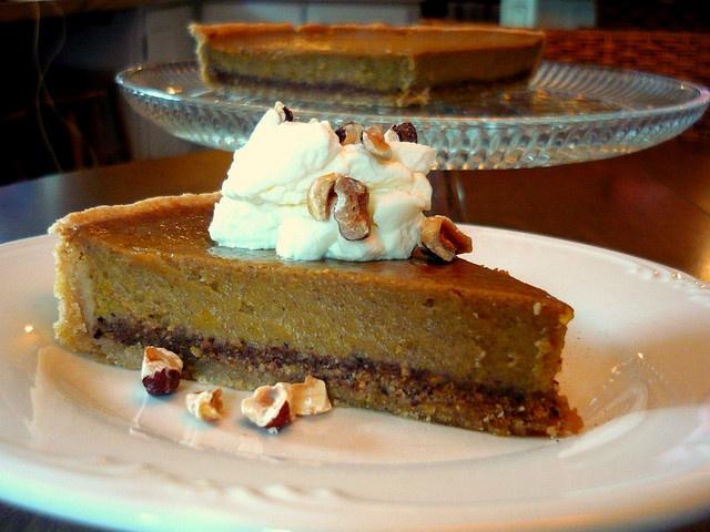 Hazelnut Spiced Pumpkin Pie | Pies, Tarts & Cobblers | Pinterest