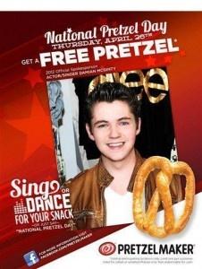 free pretzel pretzelmaker national