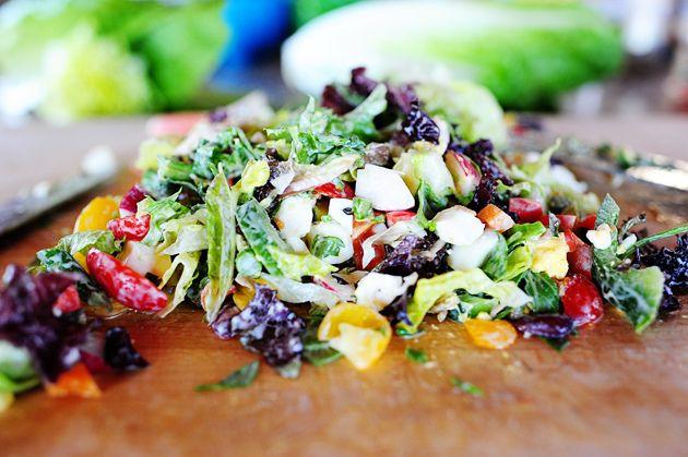 New York Style Chopped Salad | Recipe
