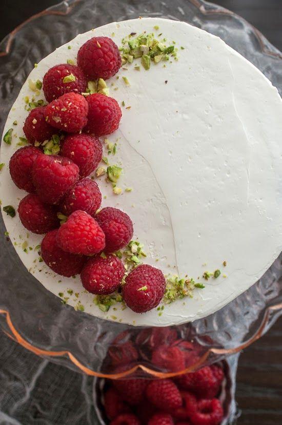 GF Pistachio Raspberry Cake | Daily Dose of Sugar | Pinterest