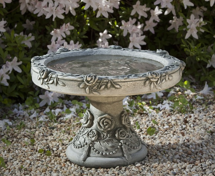 Victorian Rose Birdbath  Bird Baths and Attracting Birds!  Pinterest