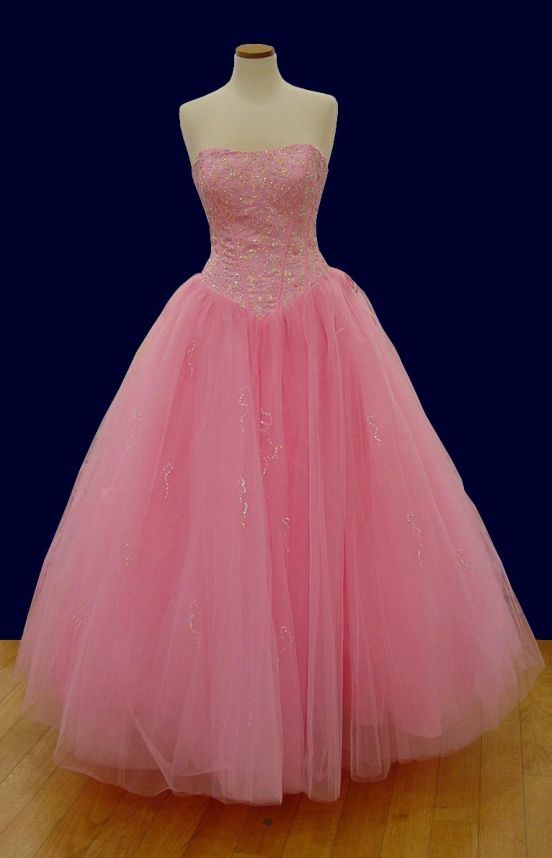 Baby pink prom gown Senior Prom 2015