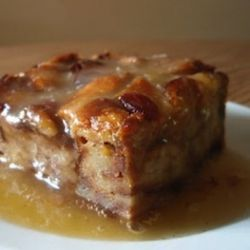 Bread Pudding with Whiskey Sauce | Food | Pinterest