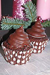 Schokoladenmuffins mit einem Marshmellowhut (Rezept mit Bild)   Chefkoch.de