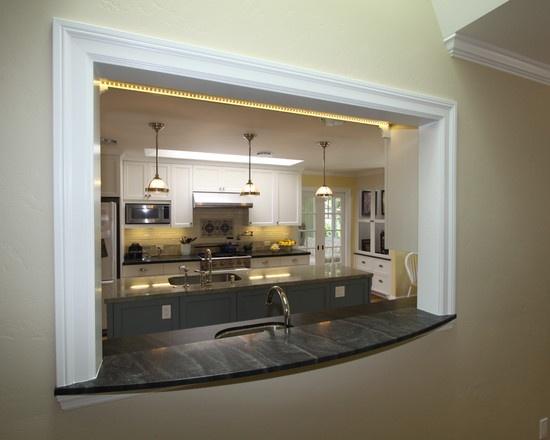 Pass through design house kitchen ideas pinterest for Pass through kitchen ideas