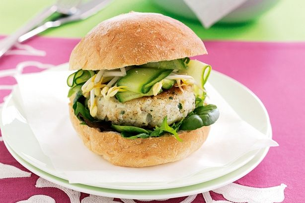 Thai Fish Burger Recipe | Thai Food Recipes | Pinterest