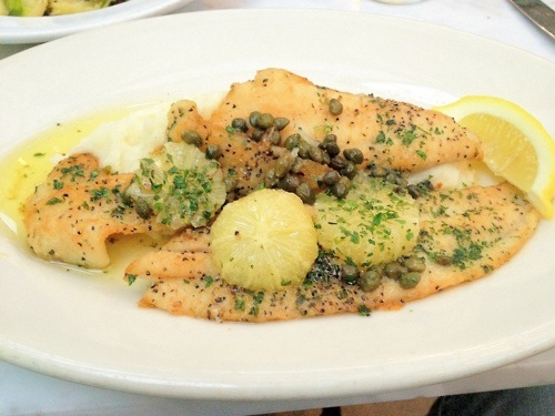 herb butter sautéed petrale sole in herb butter sauce recipes ...