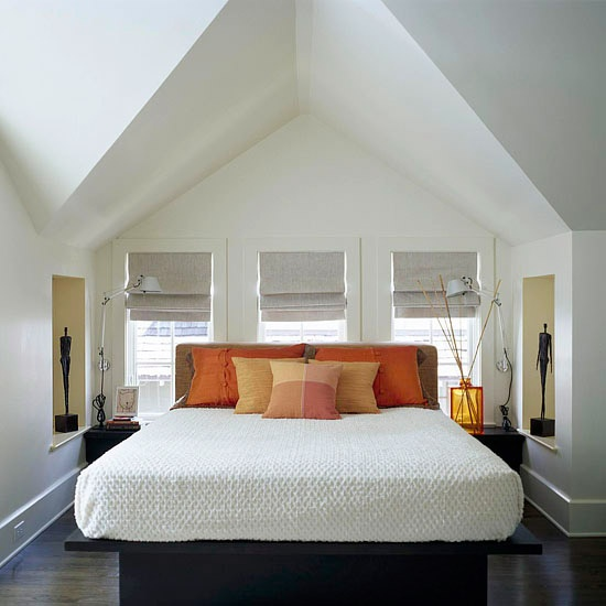 slanted ceilings   Around the House    Pinterest
